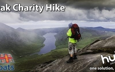 5-Peaks Hike fundraiser for the RNLI